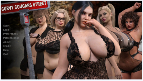 Curvy Cougars Street 0.9 PC Game Download for Mac OS X