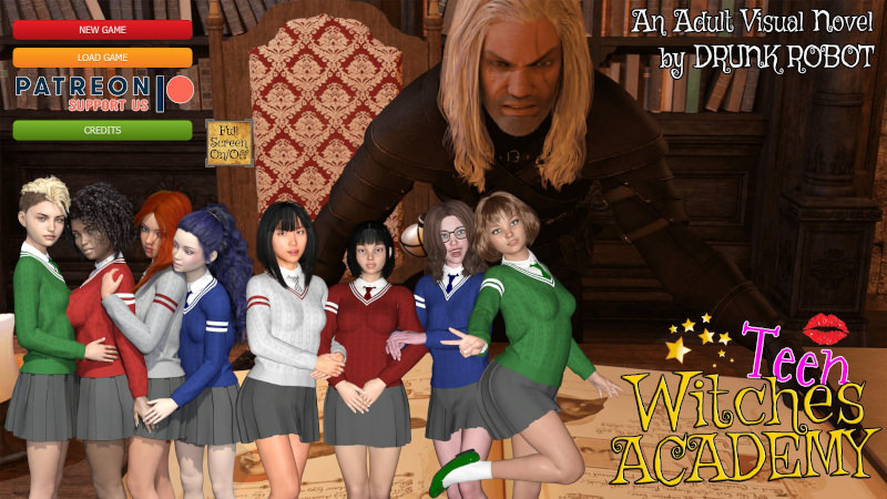 Teen Witches Academy 0.20 Game Walkthrough Download for PC