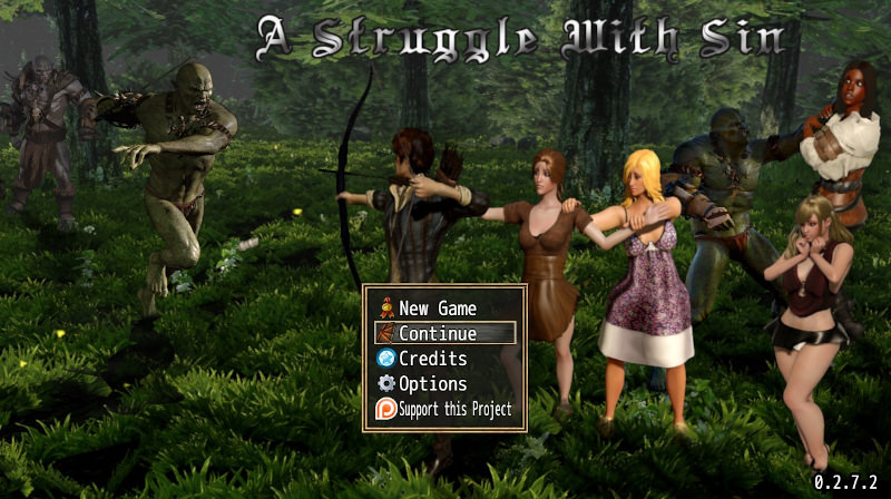 A Struggle With Sin 0.3.3.0 Game Walkthrough Download for PC
